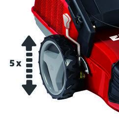 Petrol Lawn Mower RG-PM 51/1 S B&S Detailbild 1