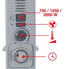 Convector Heater CH 2000 TT Detailbild 1