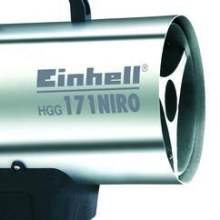 Hot Air Generator HGG 171 Niro Detailbild 2