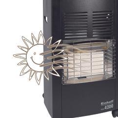 Ceramic Gas Heater KGH 4200 Detailbild 4