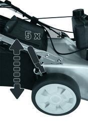 Electric Lawn Mower BG-EM 1846 SE; EX; BR; 220 Detailbild 1