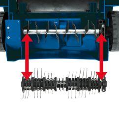 Electric Scarifier-Lawn Aerat. RSA 1231 Detailbild 1