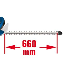 Electric Hedge Trimmer TCH 666 Detailbild 1