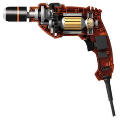Impact Drill Kit PRO-SB 750 Set Detailbild 1