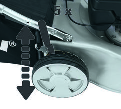 Petrol Lawn Mower BG-PM 46 SE Detailbild 1
