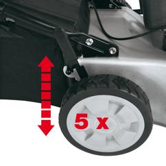 Petrol Lawn Mower N-BM 46 S-SE Detailbild 1