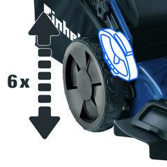 Petrol Lawn Mower BG-PM 46 S HW Detailbild 1