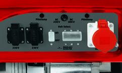 Power Generator (Petrol) RT-PG 5500 D Detailbild 1