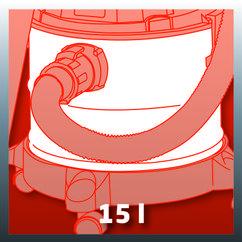 Wet/Dry Vacuum Cleaner (elect) TH-VC 1815 Detailbild 1