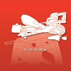 Sliding Mitre Saw RT-SM 430 U; EX; BR; 220 Detailbild 4