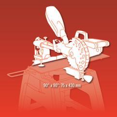 Sliding Mitre Saw RT-SM 430 U; EX; BR; 220 Detailbild 1