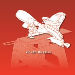 Sliding Mitre Saw RT-SM 430 U; EX; BR; 220 Detailbild 2
