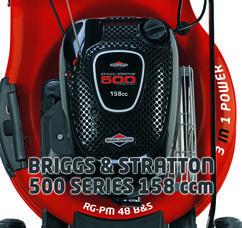 Petrol Lawn Mower RG-PM 48 B&S Detailbild 6