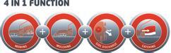Petrol Lawn Mower GP-PM 51 S B&S Detailbild 4