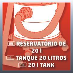 Wet/Dry Vacuum Cleaner (elect) TE-VC 1820; EX; ARG Detailbild 5