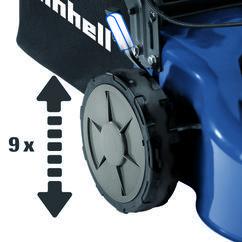 Petrol Lawn Mower BG-PM 46/3 S Detailbild 1