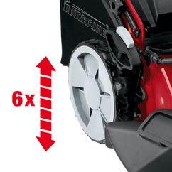 Unika Spareparts for HB 51 R HW E - Hurricane Petrol Lawn Mower ZS-61