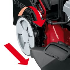 Petrol Lawn Mower HB 51 R HW E Detailbild 1