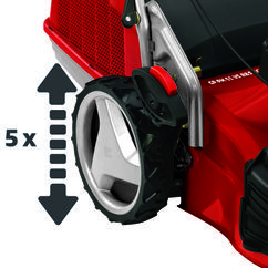 Petrol Lawn Mower GP-PM 51 VS B&S ECO Detailbild 5