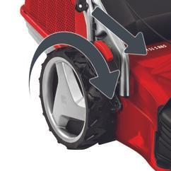 Petrol Lawn Mower GP-PM 51 S B&S Detailbild 1