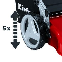 Petrol Lawn Mower GH-PM 46 S B&S Detailbild 2