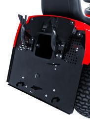 Tractor Lawn Mower GE-TM 102 B&S Detailbild 6