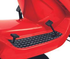 Tractor Lawn Mower GE-TM 102 B&S Detailbild 2
