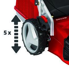 Petrol Lawn Mower GE-PM 51 VS B&S Detailbild 8