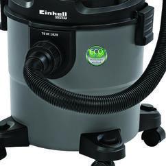 Wet/Dry Vacuum Cleaner (elect) TE-VC 1820; EX; ARG Detailbild 1