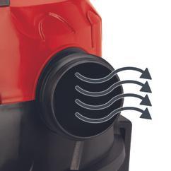Wet/Dry Vacuum Cleaner (elect) TE-VC 1820; EX; ARG Detailbild 2