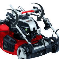 Petrol Lawn Mower GP-PM 51 VS B&S Detailbild 10