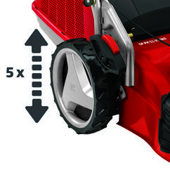Petrol Lawn Mower GP-PM 51 VS B&S Detailbild 8