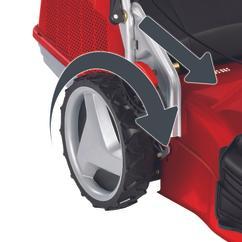 Petrol Lawn Mower GP-PM 51 VS B&S Detailbild 1