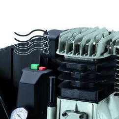 Air Compressor TE-AC 400/100/10 D Detailbild 8