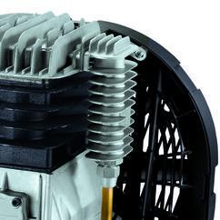 Air Compressor TE-AC 400/100/10 D Detailbild 2