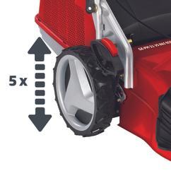Petrol Lawn Mower GE-PM 51 VS B&S ECO; EX; AUS Detailbild 8