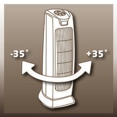 Fan Heated Tower HT 1800/1 Detailbild 2