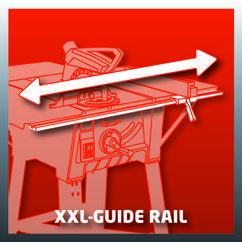 Table Saw TE-TS 1825 U; EX; AUS Detailbild 3