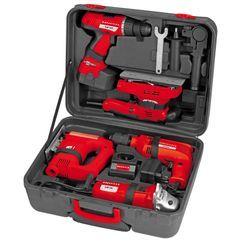 Power Tool Kit 5-teiliges Maschinen Set Detailbild 4