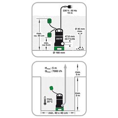 Dirt Water Pump BDP 3530 Detailbild 1