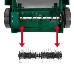 Electric Scarifier-Lawn Aerat. GLV 1200-31 Detailbild 2