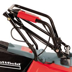 Electric Lawn Mower E-EM 1232 Detailbild 2