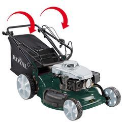 Petrol Lawn Mower RPM 56 S-MS; Norma Detailbild 1