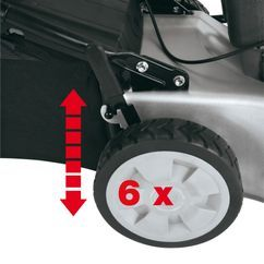 Petrol Lawn Mower N-BM 46 S-SE Detailbild 3