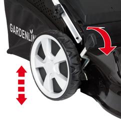 Petrol Lawn Mower GLBM 46 Detailbild 2