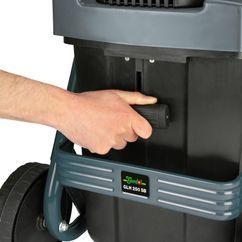 Electric Silent Shredder GLH 250 SB Detailbild 3