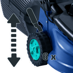 Electric Lawn Mower BG-EM 1643 Detailbild 3