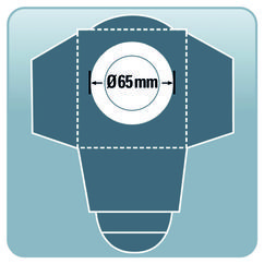 Wet/Dry Vacuum Cleaner Access. Dirt Bag Filter 30l (5 pcs.) Detailbild 1