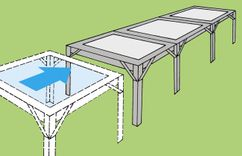 Productimage Greenhouse Accessory ANBAUSATZ FUER ABLAGE-
