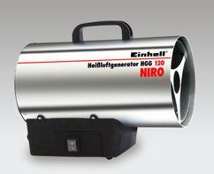 Hot Air Generator HEISSLUFTGENERATOR GAS Produktbild 1
